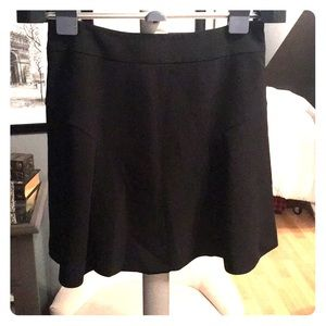 Black shirt flowy skirt from Express